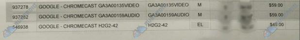 Chromecast 2 and Chromecast Audio JB
