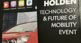 Holden's Current Technology and Future of Mobility