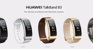 Huawei launches the Talkband B3 fitness tracker