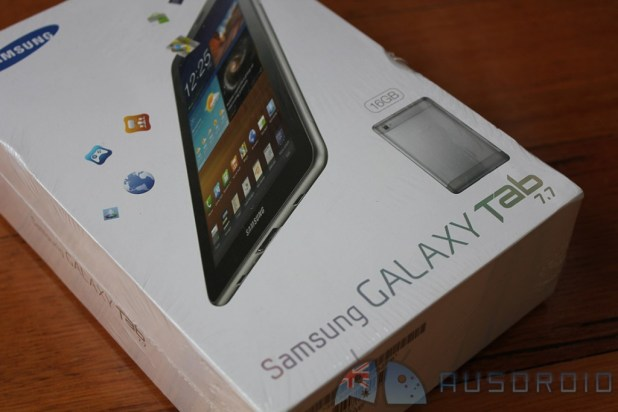 Samsung Galaxy Tab 7.7 — Review