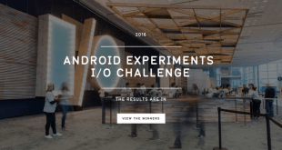 Google announces winners of Google I/O Android Experiments