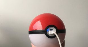 Of course there is a Pokéball shaped USB Power bank for sale on Etsy