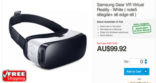 Good Deal: Grab a Samsung Gear VR headset for under $100 with free shipping.