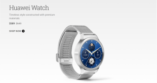 Google drops price of Huawei Watch on Google Store to $589