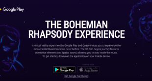 Check out the Bohemian Rhapsody Experience on Google Cardboard