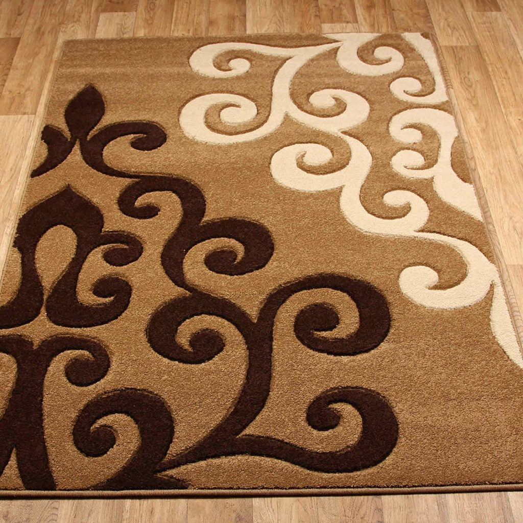 Tapis Salon Marron Tapis Design Et Modernes Pas Cher Grands Tapis Salon