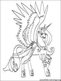 Onchao Coloring Page Mia And Me Onchao Coloring Pages