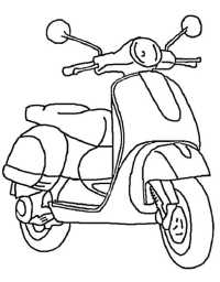Malvorlagen Motorrad Ausdrucken Motorrad 3