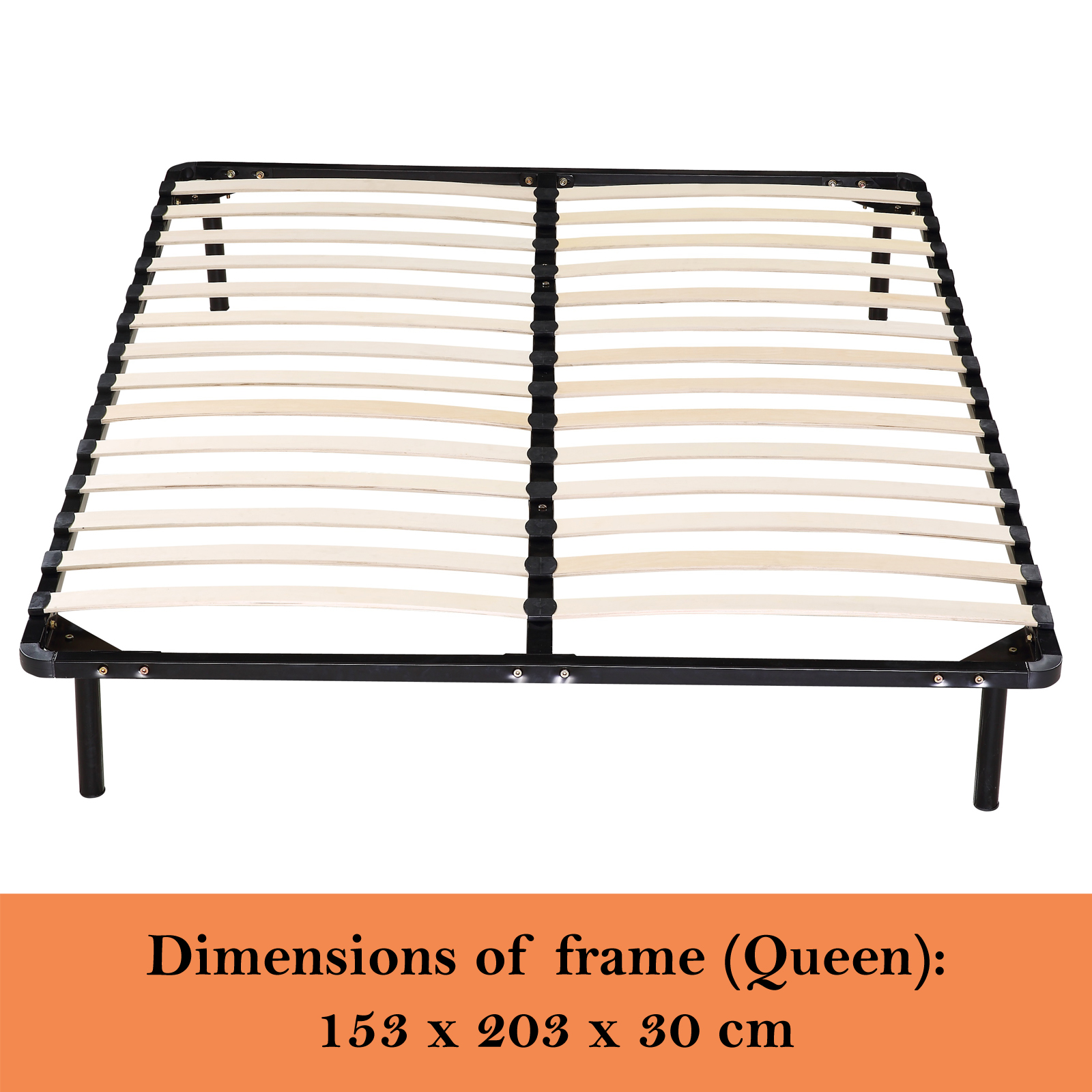 Timber King Single Bed Frame New Metal Bed Frame Queen Double King Single Bed Base