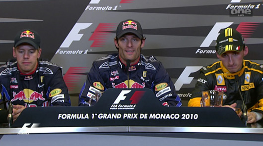 Safety Car Australian Grand Prix Ausmotive » Mark Webber Wins Monaco Gp