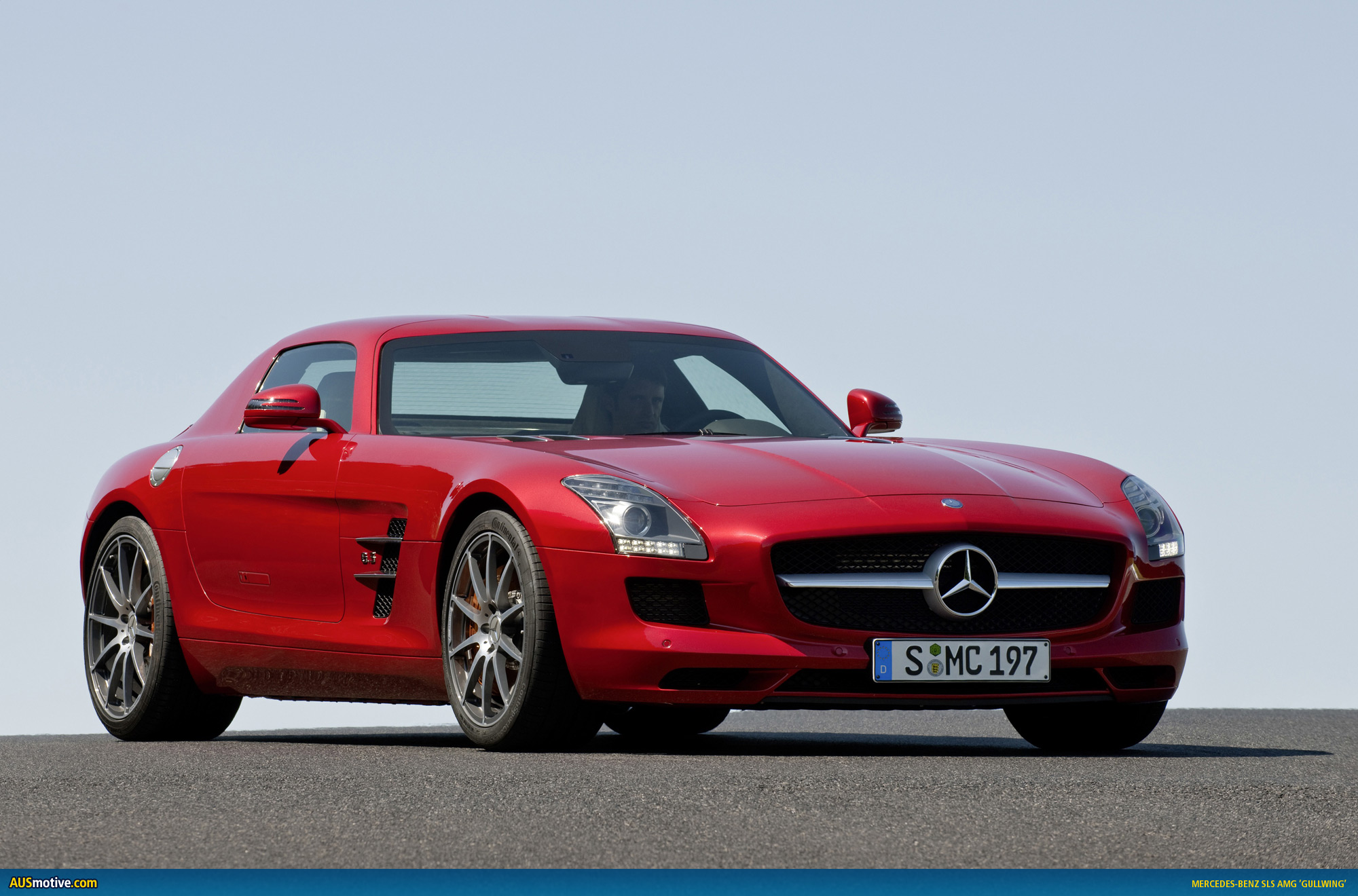 Mercedes - Benz Sls Amg Ausmotive 2010 Mercedes Benz Sls Amg Photo Gallery