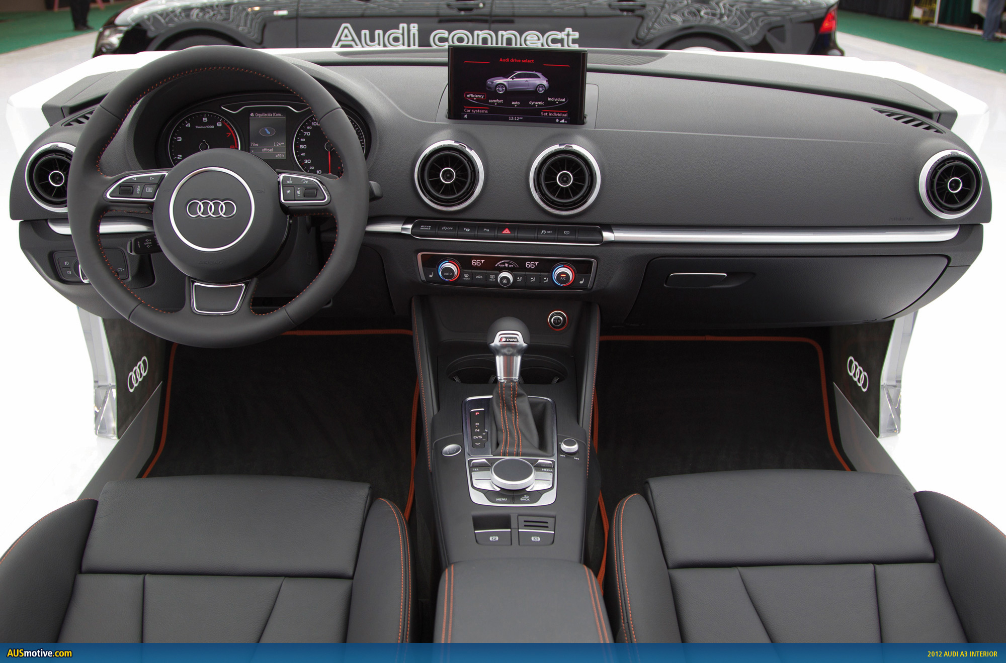 A3 Interieur Ausmotive 2012 Audi A3 Interior And More Revealed