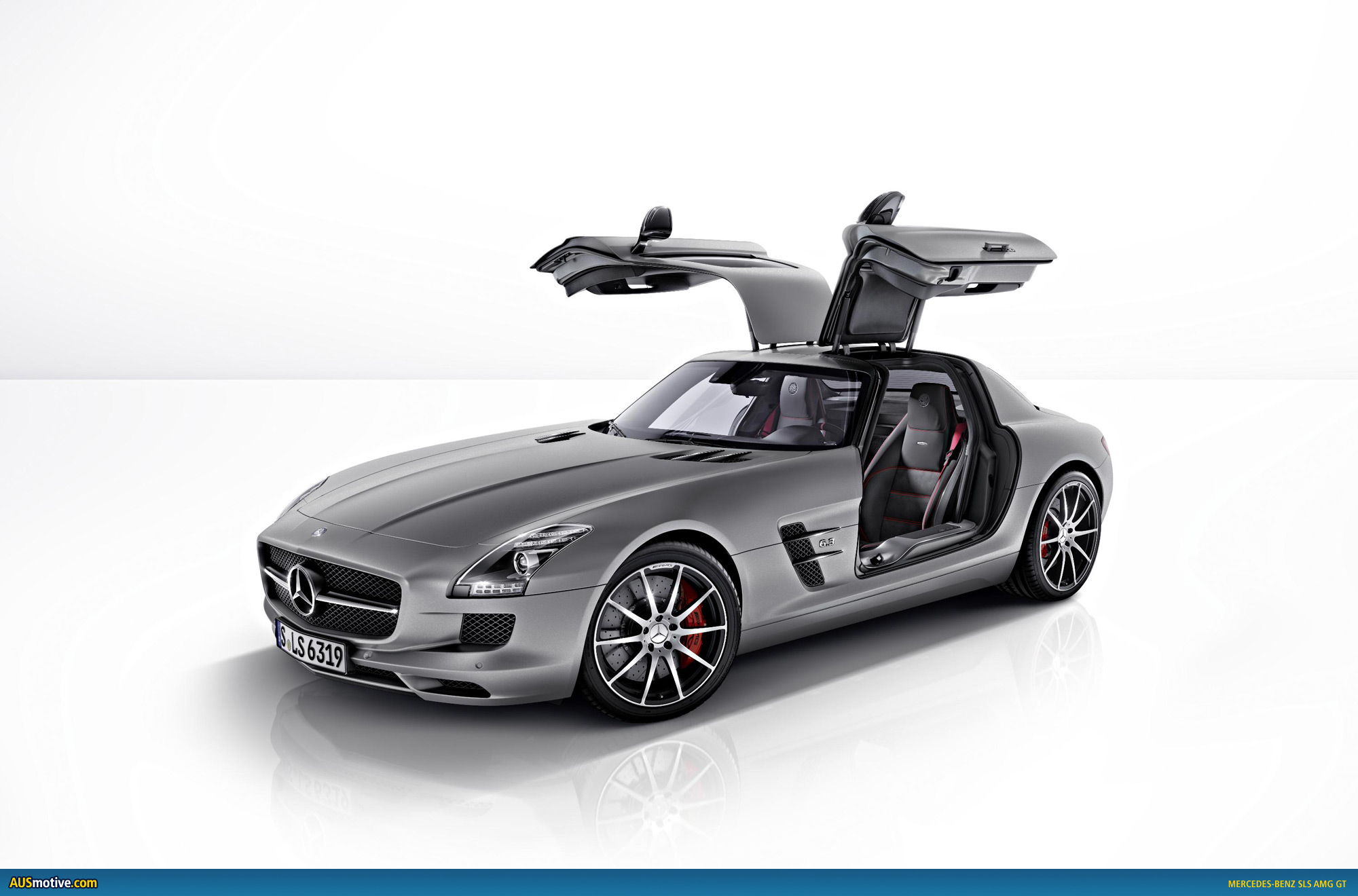 Mercedes - Benz Sls Amg Ausmotive Mercedes Benz Sls Amg Gt Revealed
