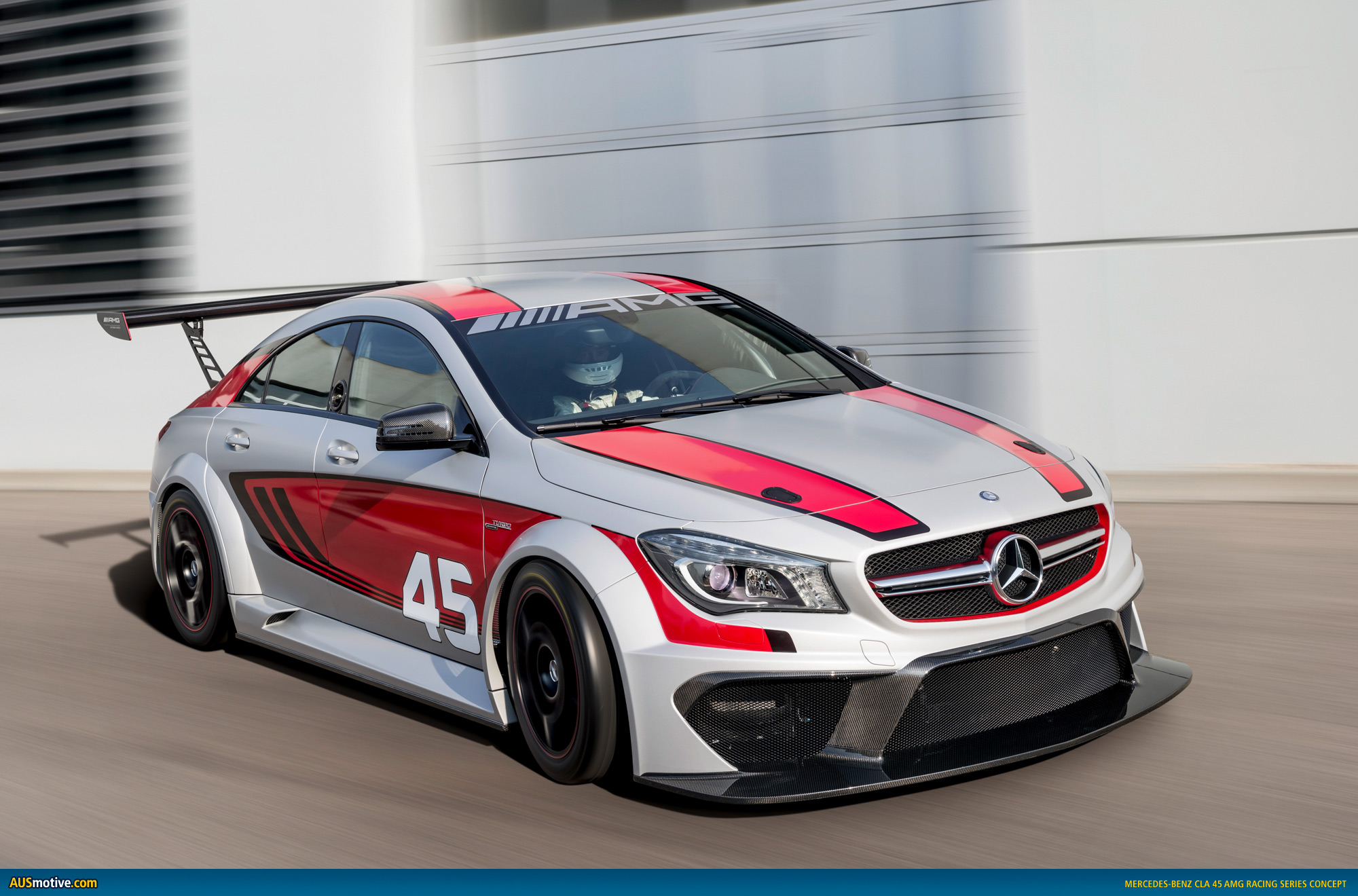 Mercedes Cla45 Amg Ausmotive Mercedes Cla 45 Amg Racing Series Concept