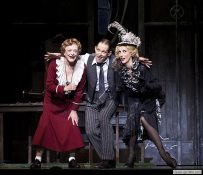 Nancye Hayes, Todd McKenney and Chloe Dallimore in Annie Melbourne - Image by Belinda Strodder (artsphotography.net.au)1