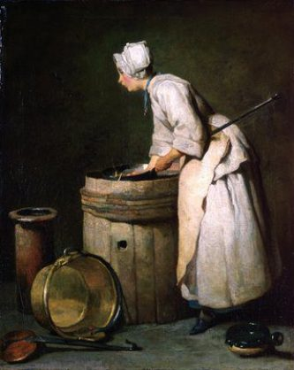 scullery maid