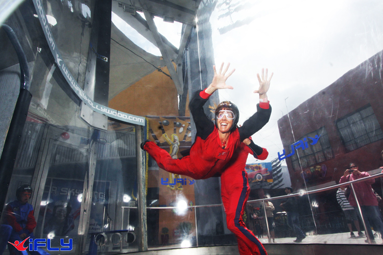iFly indoor skydiving adventure sky venture austin