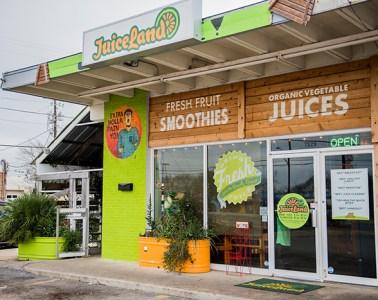 JuiceLand smoothie juice Burnet Road cleanse immune nutritional healthy fruit vegetables delicious