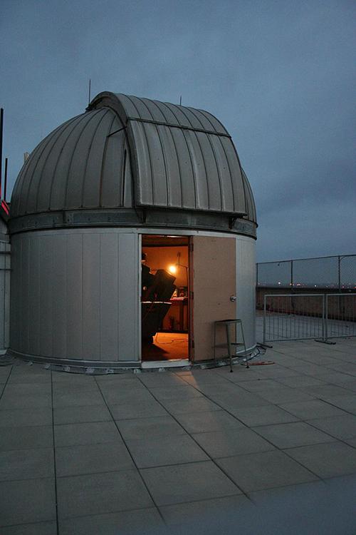 RLM robert lee moore observatory telescope University of Texas UT star party public viewing night