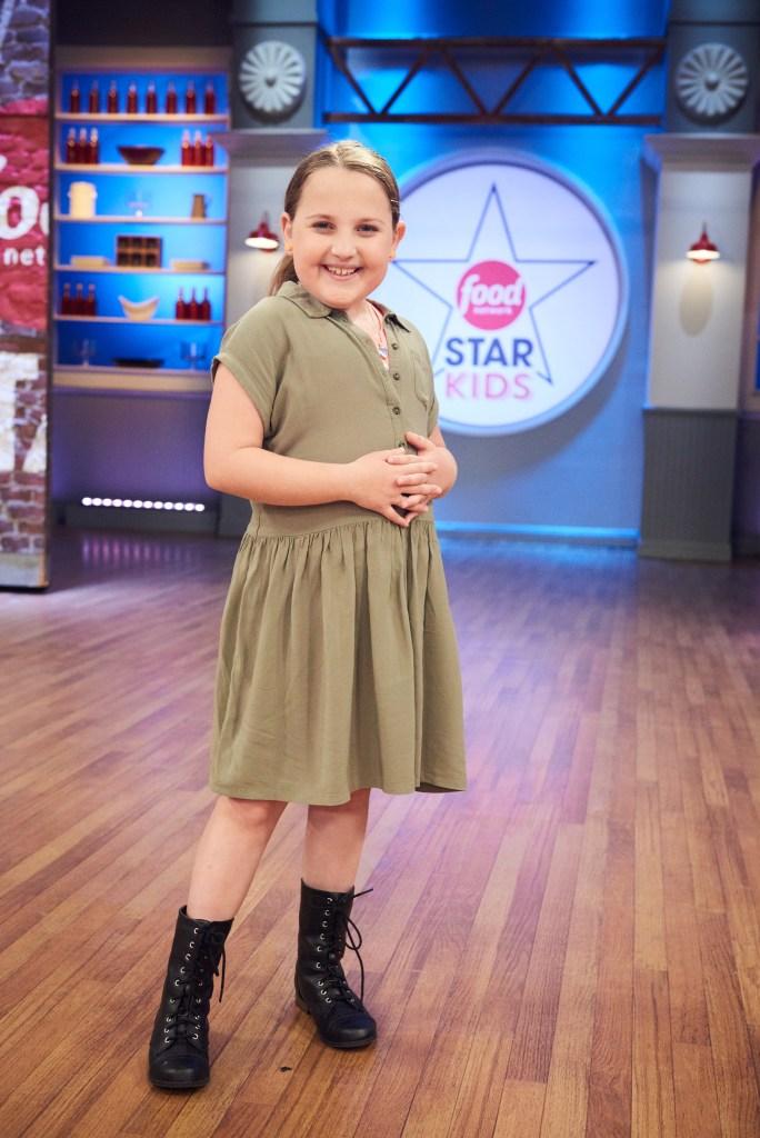 Contestant Sydnie Meyers, as seen on Food Network Star Kids, Season 1.