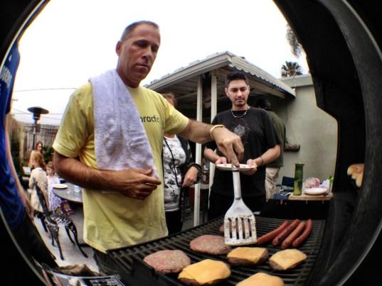 Michael Dorausch on the BBQ