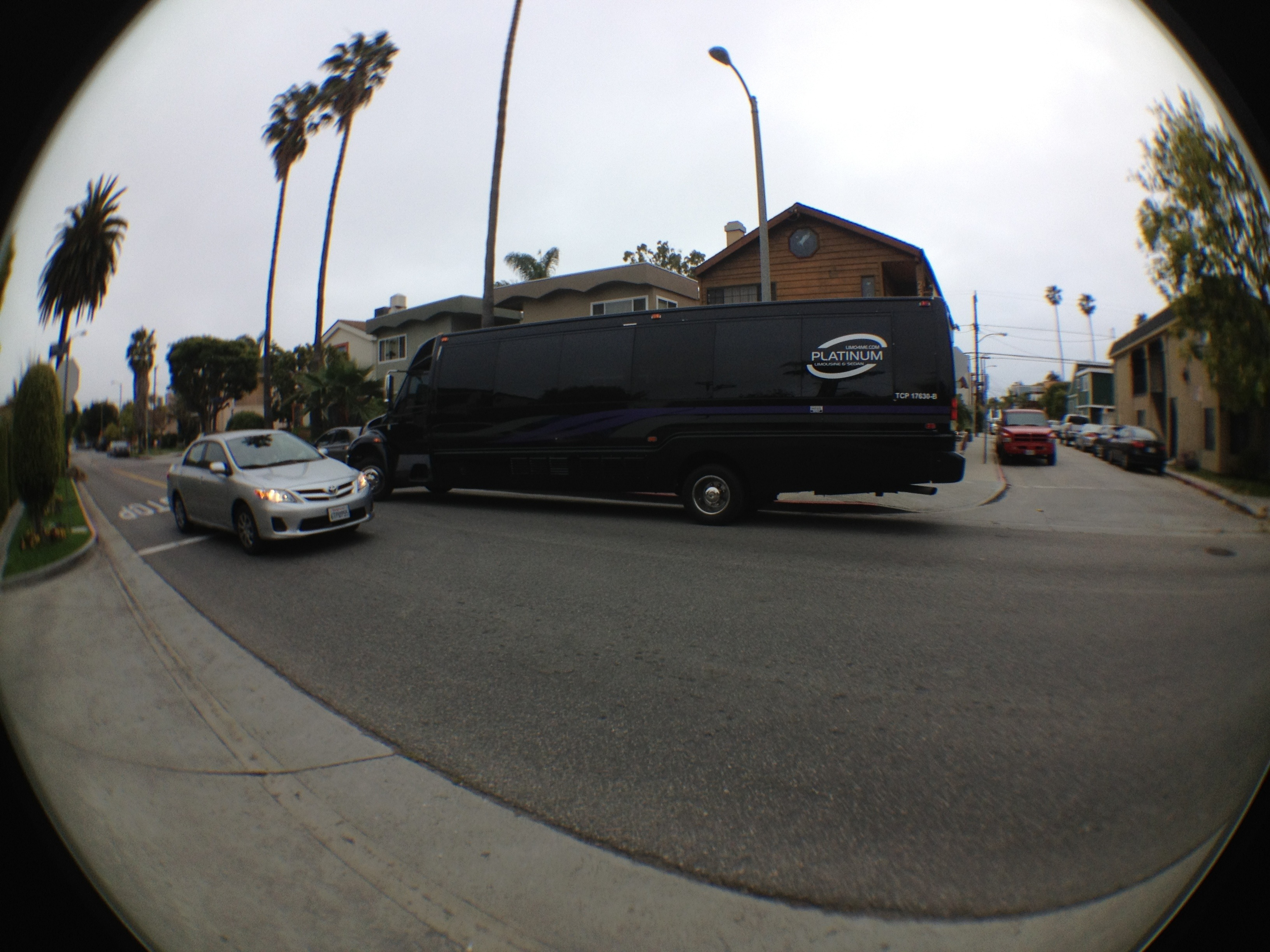 BlueGlass LA SEO BBQ party bus