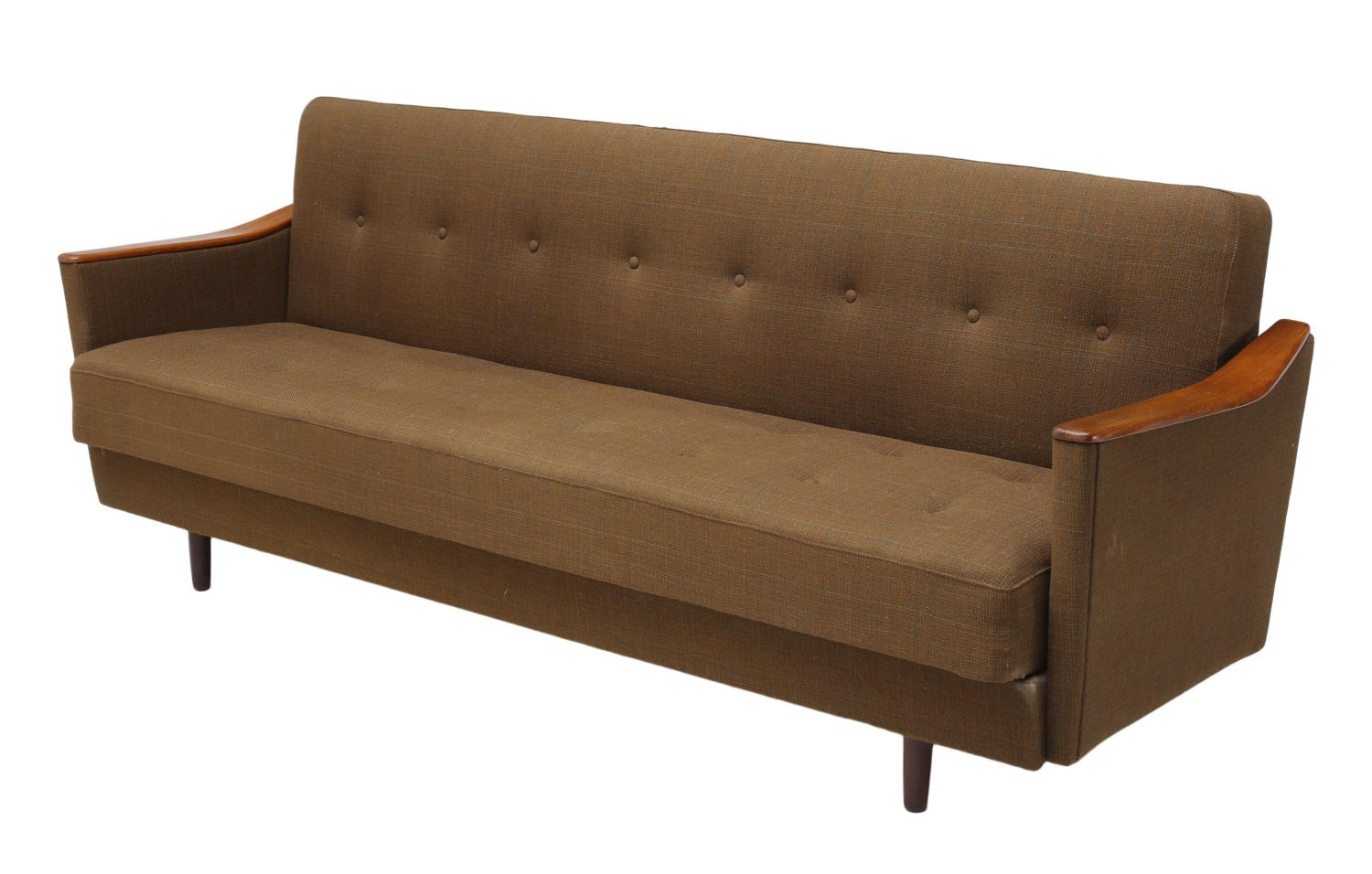 Midcentury Modern Sofa Bed Danish Mid Century Modern Teak Sleeper Sofa Bed June