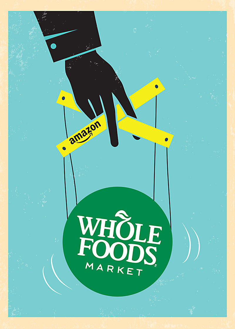 Amazon Whole Foods The Amazon Ification Of Whole Foods Small Products Struggle