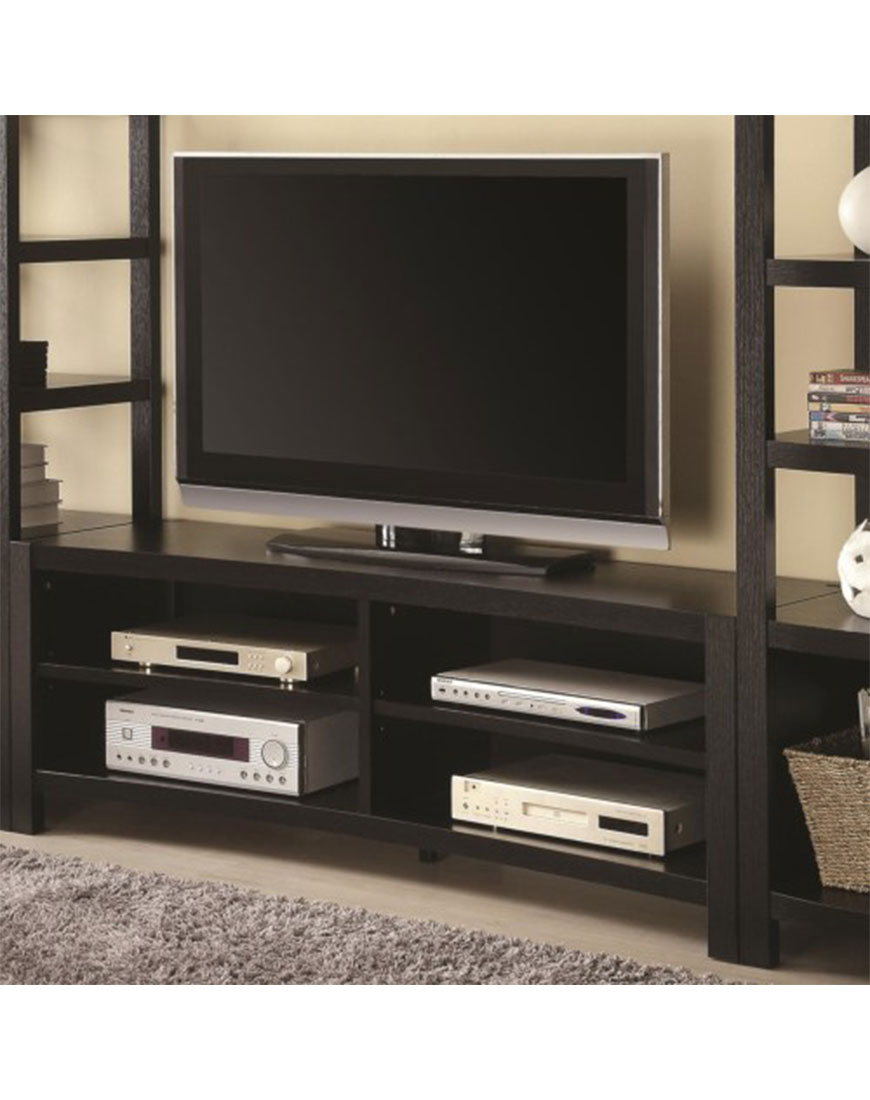 Tv Units Coaster Entertainment Units Inverted Curved Front Tv Console