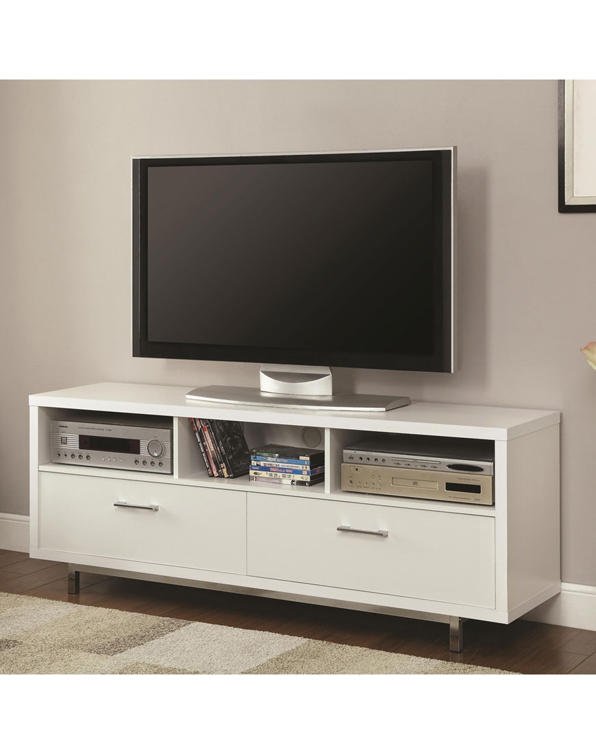 Tv Units Coaster Entertainment Units Low Tv Console With Metal Base