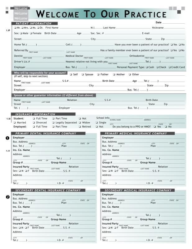 Online Registration Form - Austin Oral Surgery - registration forms