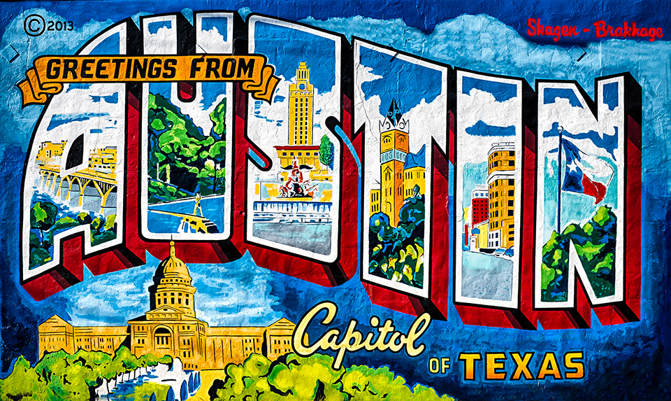 Behind The Paint Cans Austin Street Art