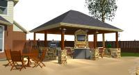 austin outdoor fireplace   Austin Decks, Pergolas, Covered ...