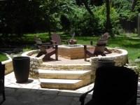 outdoor fire pit | Austin Decks, Pergolas, Covered Patios ...