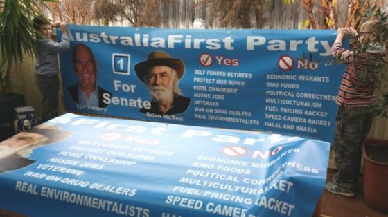 Australia First for Senate in WA