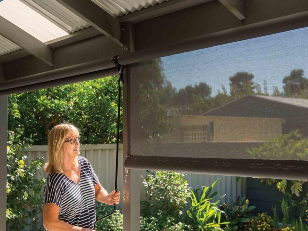 Outdoor Blinds Canberra Retractable Outdoor Blinds Australian Outdoor Living