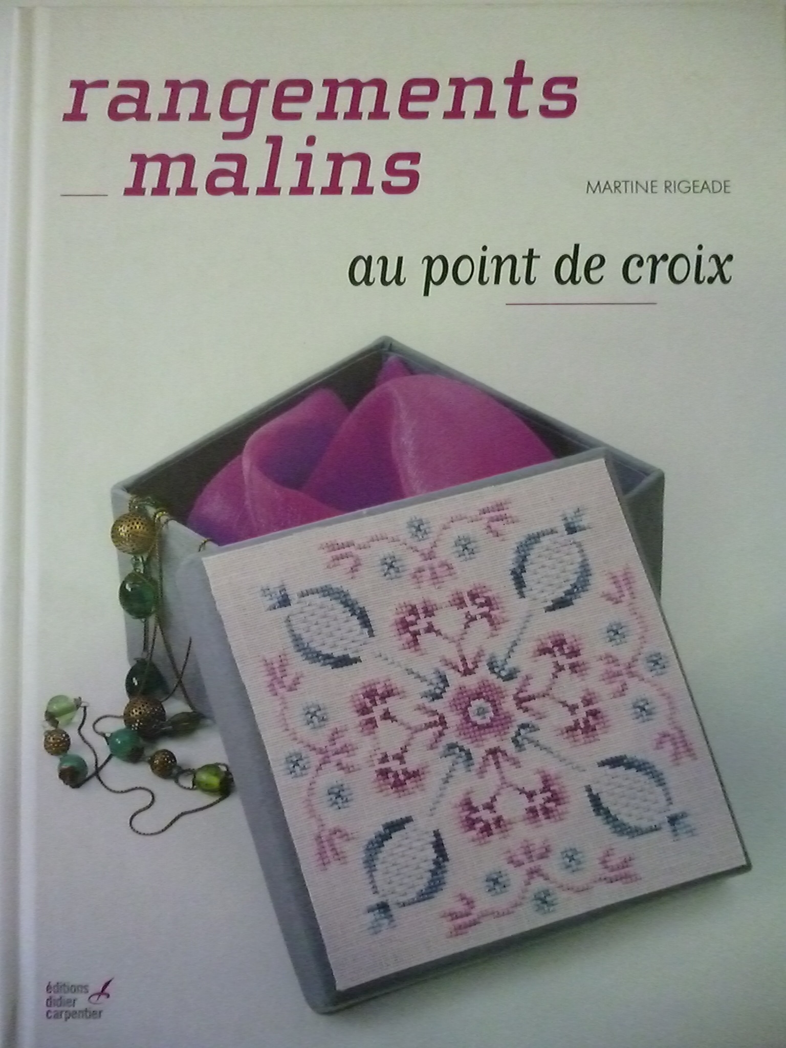 Rangements Livre Livre Quotrangements Malins Quot Au Point De Croix
