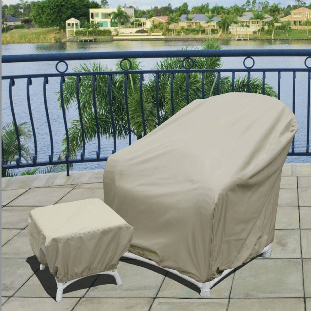 Outdoor Covers Battle Pollen Season With Outdoor Furniture Covers Authenteak
