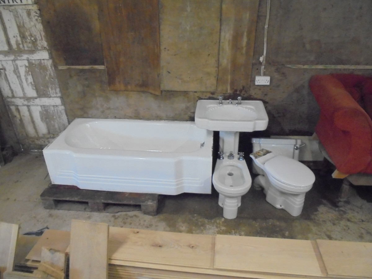Art Deco Bathroom Art Deco Style Bathroom Suite Authentic Reclamation
