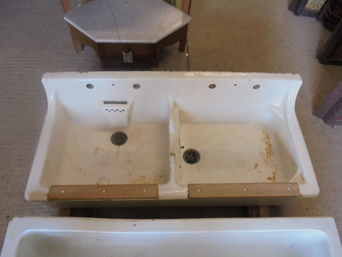 Double Butler Sink Twyfords Trentham Double Butler Sink Authentic Reclamation
