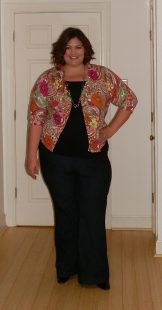 Talbots Floral Paisley Cardigan