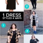 The Essential Dress, Styled 4 Ways