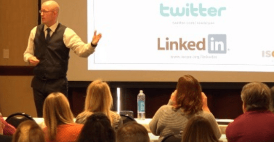 Speaking engagements: Why I always like to check out the venue when nobody is around