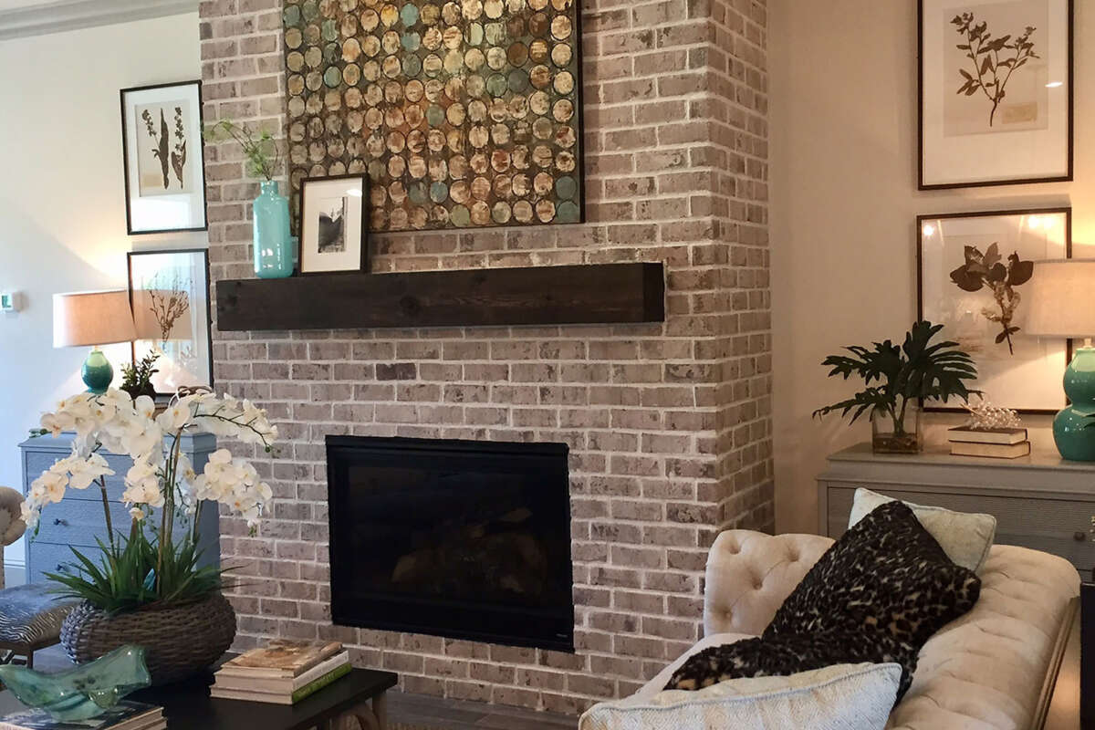 Fireplace Photos Thin Brick Gallery | Authintic Brick By Meridian Brick