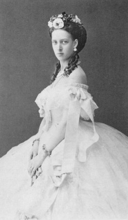 Princess Alexandra of Denmark, later the Princess of Wales.