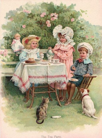 Painting-The Tea Party