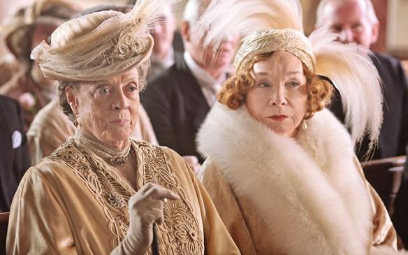 Dowager Countess and Martha Levinson