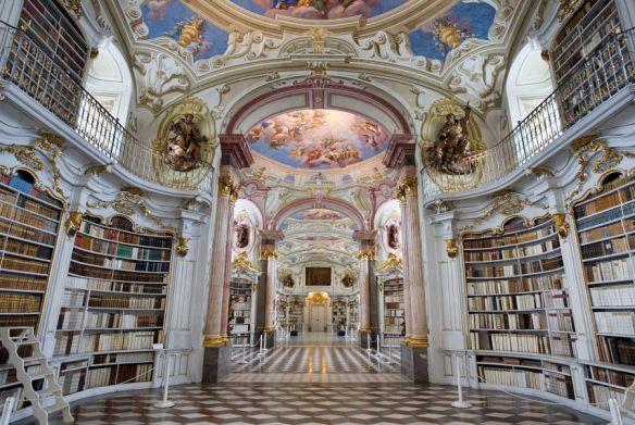 The Admont Abbey Library ~ Admont, Austria. Image Source: © Jorge Royan  http/www.royan.com.ar CC-BY-SA-3.0