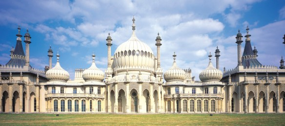 East elevation of The Royal Pavilion. / Source: www.brightonmuseums.org