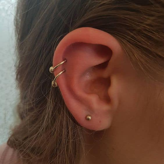 Double Helix Piercings  Best Images & Guide
